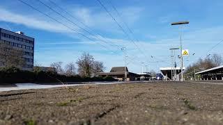 Ausfahrt des RE 1058 Fußballsonderzug von Mönchengladbach hbf, in LEV Mitte
