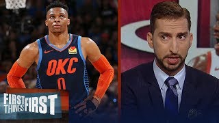 Rockets trade Chris Paul for Russell Westbrook - Nick & Cris react | NBA | FIRST THINGS FIRST