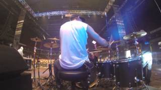 Edgars Vilums Drums Gacho Live (Drum cam only)