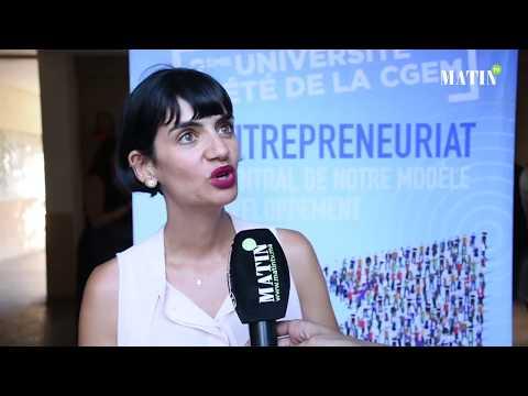 Video : Selma Bennis : «Nous avons plusieurs programmes qui accompagnent les entrepreneurs»