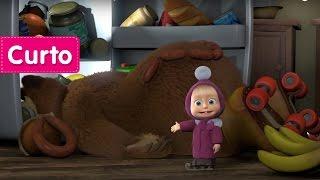 Masha e o Urso - Férias no Gelo (Não é um urso. É um elefante!)