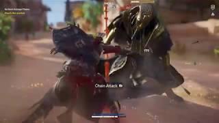 AC Origins - Paraoh's Shadow Lance Shadow [I lost]