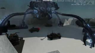 Crysis Alien vs humans battle