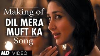 Dil Mera Muft Ka Song Making | Agent Vinod | Kareena Kapoor width=