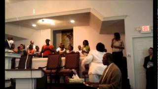 Youth Choir Easter Sunday at Lithonia Baptist Church -O Happy Day.