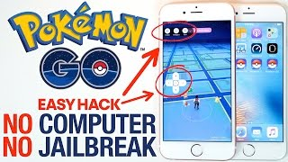 POKEMON GO JOYSTICK HACK!!!