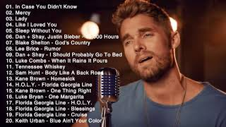 Brett Young, Luke Combs, Blake Shelton, Luke Bryan, Morgan Wallen - Country Music Playlist 2021