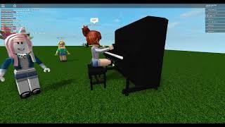 Roblox piano song megalovina (sans fight) read description plx