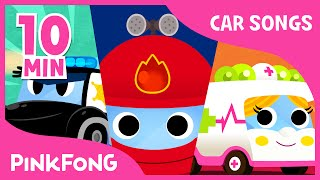 Police Car Song | Vehicle Songs | Car Songs | + Compilation | PINKFONG Songs for Children