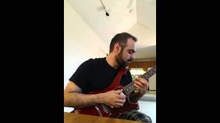 My cover of Joe Satriani's 'Baroque'