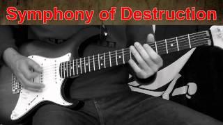 Symphony of Destruction Rhythm Guitar (Megadeth Cover)