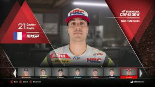 MXGP|Riders Gallery|MXGP 3: Official MotoCross Video Game|PC/Ps4/Xbox 2017