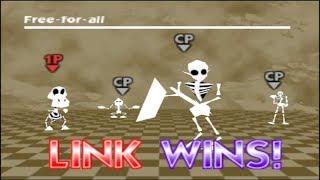 Super Smash Bros. 64 Skeleton Costumes