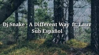 Dj Snake - A Different Way feat. Lauv | Sub. Español