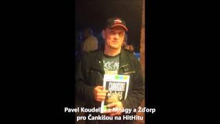 Bubeník Pavel Koudelka z Mňágy a Ždorp pro Čankišou a jejich sbírku na HitHitu