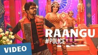 Police Songs | Raangu Video Song | Vijay, Samantha, Amy Jackson | Atlee | G.V.Prakash Kumar