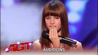 Charlotte Summers: 13-Year-Old Girl's Voice Will BLOW You Away! | America's Got Talent 2019