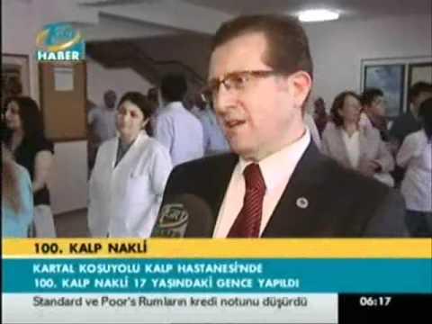 TGRT HABER PROF.DR. ALİ İHSAN DOKUCU KOŞUYOLU EAH 100.KALP NAKLİ.wmv
