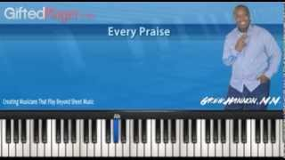 "Chords & Progressions Used In ""Every Praise"""