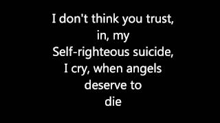 System of a down- Chop Suey (lyrics)
