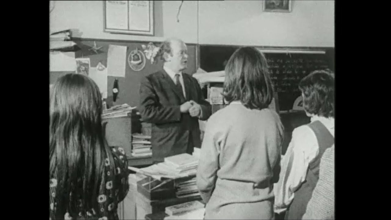 The Life of a Rural Teacher, Co. Galway, Ireland 1974
