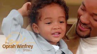 Jaden Smith as a Toddler Is Adorable | The Oprah Winfrey Show | Oprah Winfrey Network