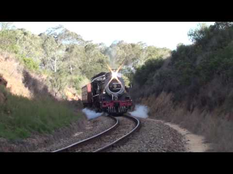 South Africa Railways Outeniqua Choo-Tjoe – Little Brak River to George