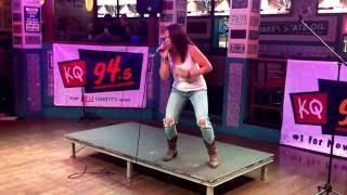 "Dierks Bentley ""How Am I Doin'"" by Mandi Palczewski (cover) (karaoke)"