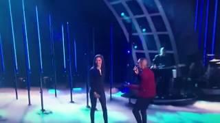 "Zendaya and Mario performing ""Let Me Love You"""