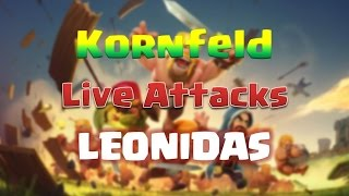 Clan War Live Attack [Leonidas][Queencharge Dragons] Clash of Clans 3 Star Attacks