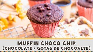 Muffin Choco Chip - Receitas de Minuto #253