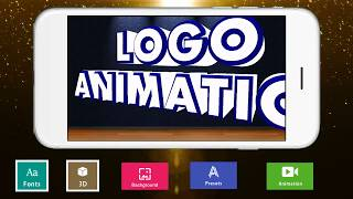 3D Text Animator - Intro Maker, Logo Animation Android application