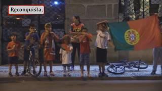 Euro 2016: Portugal na final. A festa em Castelo Branco