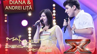 """Lady Antebellum - """"Just A Kiss""""! Interpretarea Dianei şi a lui Andrei Liţă, la X Factor!"""