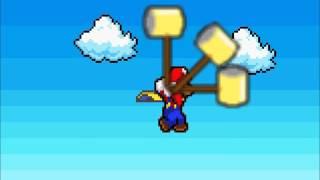 Random Sprite Battle: Super Mario Bros and Sonic Shadow Vs Goku and Vegeta 1