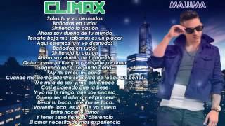 Maluma Clímax oficial letra