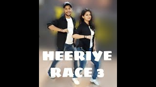 HEERIYE  RACE-3 || EID SPECIAL || Salman Khan, Jacqueline || Meet BROS ft. Deep Money