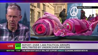Over 1,000 political groups infiltrated by undercover police - report