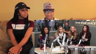 """Couple Reacts : Little Mix """"How Ya Doin'"""" A Cappella With Ryan Seacrest!! Reaction!"""