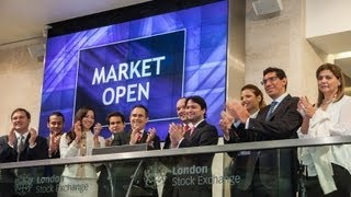 Market Open Ceremony at London Stock Exchange by the Embassy of the Dominican Republic