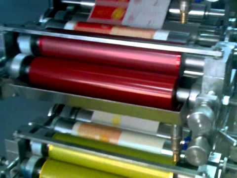 5 Renk Flexo Baskı Makinesi
