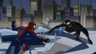 Spectacular Spider-Man (2008) Black Suit Spider-Man vs Chameleon part 2