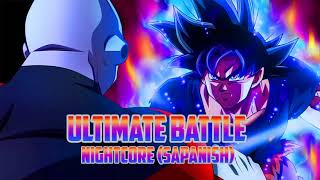 Dragon Ball Super - Ultimate Battle (Nightcore Español)