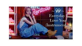 LOONA/ViVi - Everyday I Love You (Instrumental Snippet)