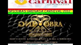 SNAKEY - TURN UP - KING KOBRA RIDDIM - GRENADA SOCA 2012