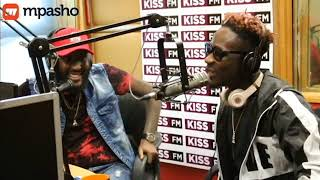 Mr.Eazi learns about 'Lamba Lolo' the Kenyan way