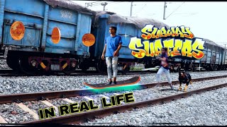 -SUBWAY SURFERS-in real life by AAK videos