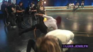 BTS - WOD Luka & Jenalyn Les Twins Warmup Part 2
