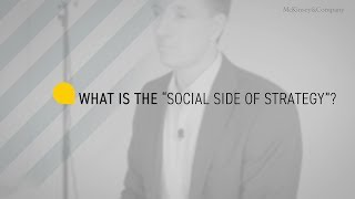 'Social Side'  of Strategy?