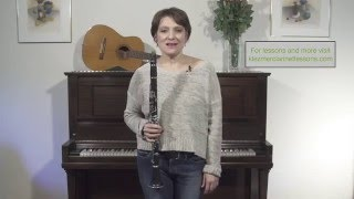 Lesson 8 - Extreme Clarinet High Notes